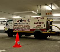 Vacuum Jetting Units Liquid Waste Removal Disposal