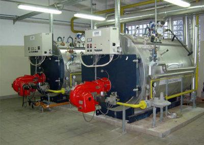 Dry fire boiler meltdowns
