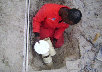 Installing Rodding Eyes and Building Manholes