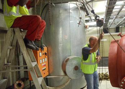 Routine Boiler Room maintenance
