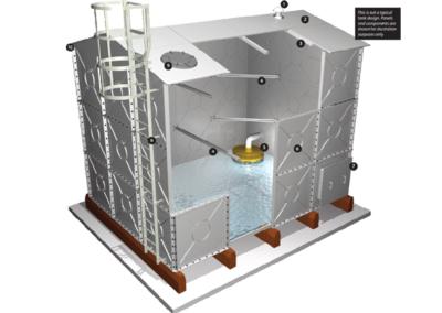 Servicing Water Tanks