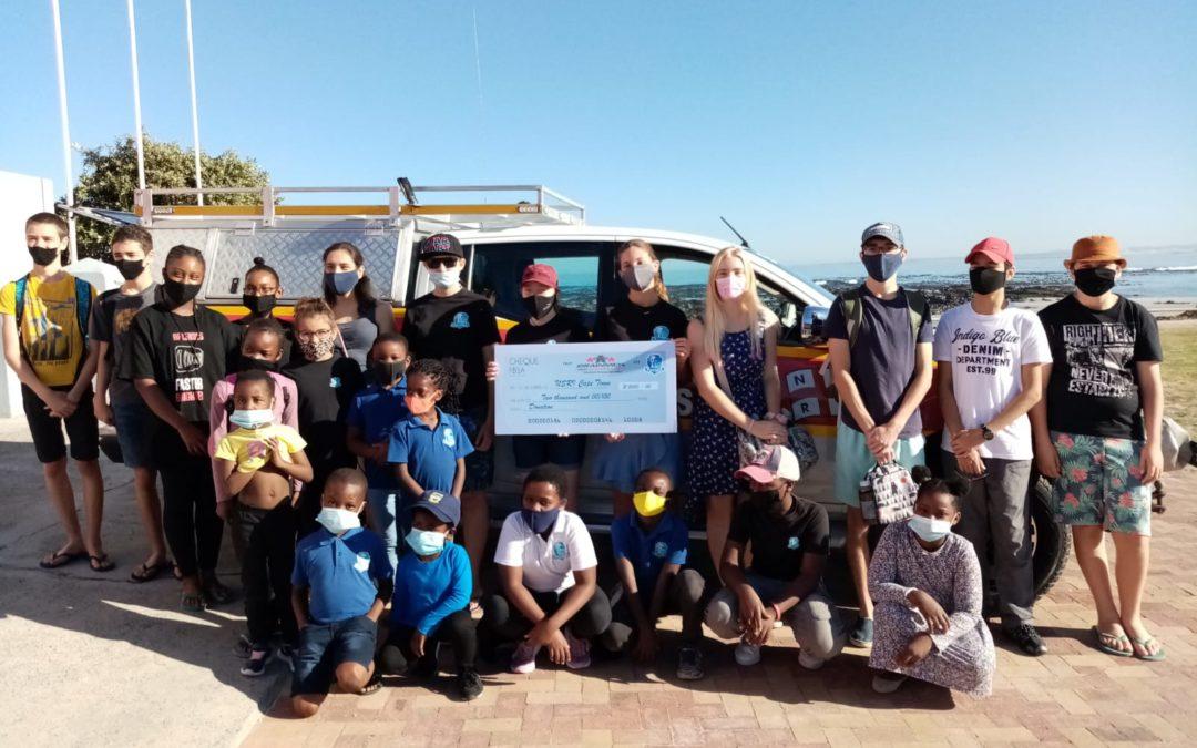 Drainmen Donation to the NSRI Melkbostrand